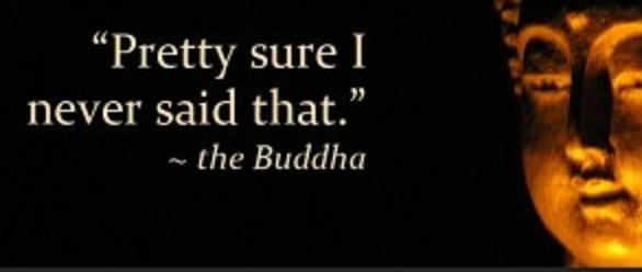 funny buddha quote