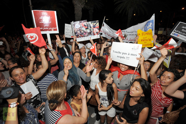 Men & Women are now Equal in Tunisia   abc - an ...